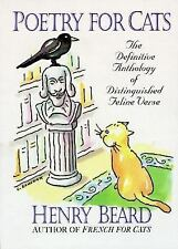 Poetry for Cats, Henry Beard, (Hardcover, small, 1994)