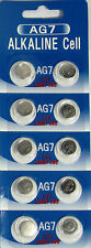 10 Pk AG7 LR927 395 395A 926 SR927SW LR57 SR927 Alkaline Button Cell Battery