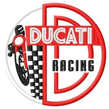Ducati Racing 848 Multistrada 1000 Sport 749 GT 999 Parche bordado patch