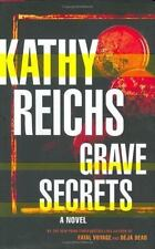 Grave Secrets by Kathy Reichs (2002, Hardcover)
