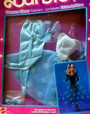 1985 BARBIE DREAM GLOW Fashion Abito da sera RAR magico splendore VINTAGE #2191 NRFB