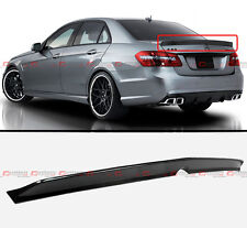 2010-2015 MERCEDES BENZ W212 E63 AMG SEDAN HIGH KICK CARBON FIBER TRUNK SPOILER