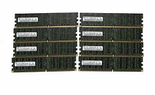 LOT 32GB (8x4GB) SAMSUNG  DDR2 RAM ECC REG 667 Mhz M393T5160QZA  Reg server only