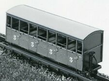Parkside Dundas DM22 Festiniog Semi-Open Coach No37 or 38 009 Plastic Kit T48Pos