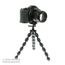 Heavy Duty Flexible Camera Tripod w/ Quick Release Plate. Fits DSLRs and CSCs