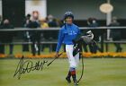 Frankie DETTORI Signed Autograph 12x8 Photo AFTAL COA Champion Jockey Genuine