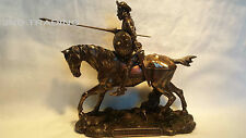 NEW Don Quixote Riding On Horse Statue Figures Sculpture Bronze FAST SHIPPIN