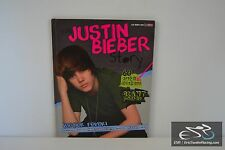 The Justin Bieber Story: Bieber Fever! Hardcover Book - 2010 by Lisa Clark