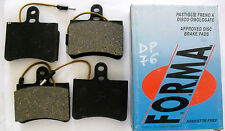 KIT 4 PASTICCHE FRENO FRENI ANTERIORI CITROEN GS -GS -CLUB -BREAK FORMA DP 76