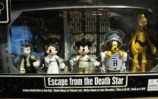 STAR WARS ESCAPE FROM THE DEATH STAR DONALD D, MINNIE M, MICKEY M, PLUTO & GOOFY