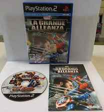 Console Gioco Game SONY Playstation 2 PS2 PAL ITALIANO MARVEL LA GRANDE ALLEANZA