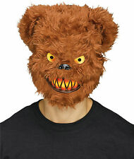 Fun World Killer Furry Brown Bear Adult Costume Mask