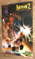 Rayman 2 The Great Escape very rare Poster 81x58cm PSX 2000