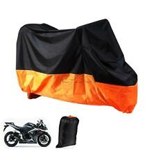 XXL Orange Motorcycle Rain Cover For Harley Davidson XL Sportster 1200 Custom