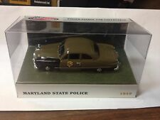 1:43 White Rose Collection 1949 Ford Fairlane Maryland State Police