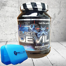 Hi-Tec BLACK DEVIL 240 caps Testosterone Booster DAA Maca Tribulus + pill box