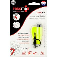 RESQME 2 in 1 Keychain Rescue Tool Safety Yellow Retail