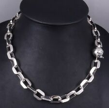 "20"" 143g HUGE HEAVY CLASSIC BARAKA 925 STERLING SILVER MENS NECKLACE CHAIN PRE"