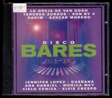 DISCO BARES - SPAIN CD Epic 2001 - 18 Tracks - Oreja Van Gogh, Tahures Zurdos...