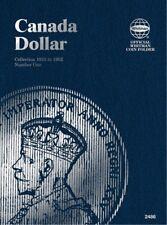 Canada Dollar No. I 1935-1952, Whitman Coin Folder