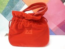 NEW ESCADA CUTE EVENING RED VELVET BAG  MARGARETHA LEY SMALL AND BEAUTIFUL NEW