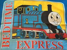 THOMAS THE TANK Fabric Pillowcase -  Quilting Sewing Material