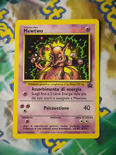 Carta POKEMON 14 MEWTWO VHS Film PROMO Wizard Black Star ITALIANO No mew Gold