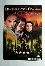 HOUSE OF FLYING DAGGERS ZHANG TAKESHI LAU MINI POSTER BACKER CARD (NOT A MOVIE)