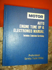 1984-88 MOTOR AUTO TUNE UP ELECTRONICS SERVICE MANUAL FORD DODGE CHRYSLER CHEVY