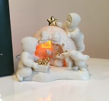 """Snowbabies """"I'll Be Home For Christmas"""" Plug In Lamp Nightlight New In Box"""