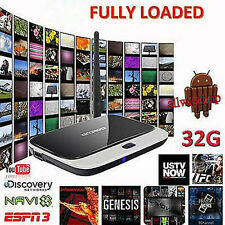 Smart TV Box Set XBMC Fully Loaded Android 4.4 Quad Core 2G/32GB WiFi 1080P