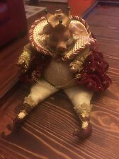 Limited Edition Hand-Made King Pig Doll Porcelain Head, Arms, Legs Figurine