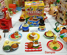 Sanrio  Gudetama global expansion World Gourmet Tour  complete set   - Re-ment