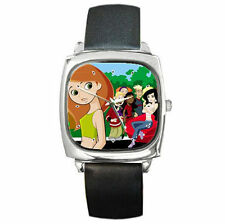 Kim Possible boys girls women men kids adults leather Wrist Watch