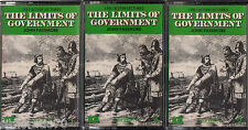 The LIMITS Of GOVERNMENT Passmore - 3 Cassette Tape Audio - 1981 Boyer Lectures