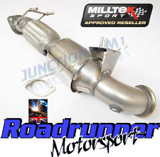 "Milltek Focus ST250 Stainless Exhaust 3"" Largebore Downpipe Sports Cat 200 Cell"