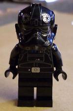 Lego Star Wars Figur - Tie Fighter Pilot ( Rebels Imperium Jäger schwarz ) Neu