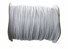 Rockin Beads 80 Yards White Waxed Cotton Cord 2mm to 3mm for Bracelet/ Necklace