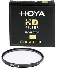 Genuine Hoya 52mm HD Protector Filter. Pro Quality Multi-Coated Glass. Lens UV