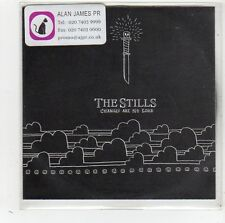 (FV928) The Stills, Changes Are No Good - 2004 DJ CD