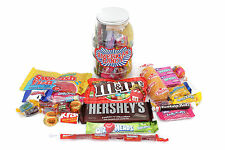 AWESOME JAR OF AMERICAN IMPORT CANDY TREATS HERSHEY'S TWINKIES SWEDISH FISH