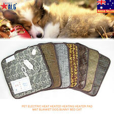 2016 Pet Electric Heat Heated Heating Heater Pad Mat Blanket Dog Bunny Bed Cat