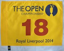 2014 OFFICIAL (Royal Liverpool) BRITISH OPEN Golf FLAG