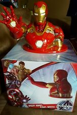 Marvel Avengers Age of Ultron Iron Man Bust Resin coin bank