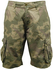 Mens Camouflage | Camo Multi Pocket Cargo Shorts - E12