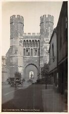 POSTCARD  KENT   CANTERBURY  Cemetery  Gate   St  Augustines  Abbey