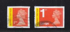 GREAT BRITAIN 2013 MACHIN ROYAL MAIL SIGNED FOR (MA13) 1ST CLASS&1ST CLASS LARGE