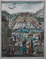 FLORINUS,ALLGEMEINES LAND-UND HAUSS WIRTHSCHAFFTS BUCH,2 TEILE,NÜRNBERG,1730