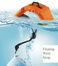 Orange Floating strap for waterproof cameras SONY TX20 TX30 Panasonic FT4 FT25