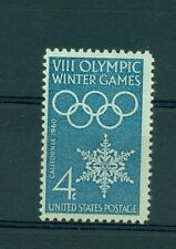 OLYMPIC WINTER GAMES SQUAW VALLEY 1960 U.S.A. 1960